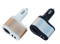 2 in 1 Dual USB 2 Port Car Charger Cigarette Metal Alloy 3. 1...