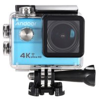 Andoer Ultra HD Action Sports Video Camera 2.0 pollici LCD 16MP 4K 25 FPS 1080P 60FPS Zoom 4x Wifi 25 millimetri impermeabile 30M l'automobile DVR DV Cam D3585