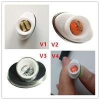 Quartz Wax Ceramic Dual Coil Replacement Core Atomizer For W...
