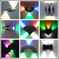 6W Led wall lamp 2x3W Epistar chip spot led light modern hom...