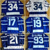 Leafs 2016 Draft #34 Matthews 19 Lupul 93 Gilmour 21 van RIE...