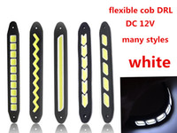 flexible fog driving Car vehicle auto car Silicone COB LED F...