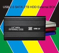 New 2. 5inch USB 2. 0 SATA 2TB 1024GB External Storage Hard Di...
