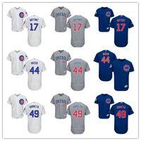 Cheap Men' s Chicago Cubs 12 Kyle Schwarber 22 Heyward 1...
