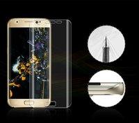 2016 Samsung Note7 protecteurs d'écran avant anti-explosion anti-rayures haute définition soft téléphone cellulaire protecteurs d'écran sans sac de vente au détail