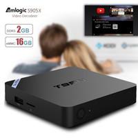 T95N 2GB 16GB Smart TV Box Quad- core Amlogic S905X cortex- A5...