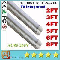 8 ft LED tube T8 Cree LED Fluorescent Tubes SMD2835 Integrat...