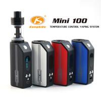 Сигаретные наборы Newesr Kangside Mini Mod Kit 100W E Испарители 5W-100W Контроль температуры E Cig Mod 4 цвета 100% оригинал