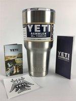 Wholesale 304 Stainless Steel 30 oz Yeti Cups Cooler YETI Ra...