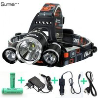 7000Lm Led lighting Head Lamp T6+ 2R5 LED Headlamp Headlight ...
