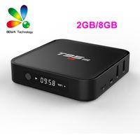 2GB RAM 8Go Rom Amlogic S905X 4K Télévision Boîte T95 T95M Set Top Box Pour TV XBMC installé OTA mise à jour Kodi 16 Quad Core TV Box Openbox