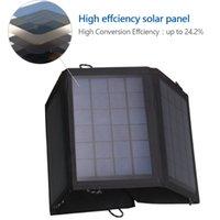14W панель солнечных батарей питания зарядное устройство, портативный Открытый панель зарядное устройство для телефона 7 ПК таблицы Android устройств