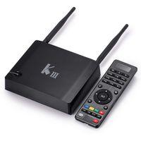TV Now KIII 2GB 16GB Android Smart TV Box 2. 4G 5G dual band ...