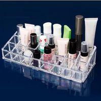 Wholesale- Acrylic Transparent Multi pocket Cosmetic Storage ...