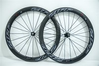 Top Zipp 404 Carbon Wheels 700C Road Bike 3K Wheelset Red Ea...