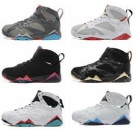 2016 cheap Air retro 7 VII Men Basketball Shoes raptor guyz ...