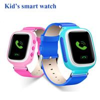Q60 Montre GPS Smart Kid Gift Montres-bracelets sécurisées SOS Localisation Finder Locator Enfants Anti Lost Remote Monitor SmartWatch Pour IOS Android OTH303