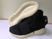 Y3 Tubular Shoes Black- white Mens Womens all Red Pirate Blac...