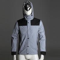 spring autumn waterproof coat Suprem 3M reflective waterproo...