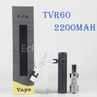 Vape mods box kit ecigs TVR60 black TVR 2200mah battery 60W ...