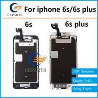 Pour Apple iphone 6s 6s plus écran LCD 4.7 et 5,5 pouces écran tactile avec numériseur Assemblage + bouton Home Caméra frontale