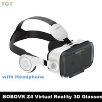 DHL BOBOVR Xiaozhai Z4 Lunettes 3D VR Lunettes 3D Réalité Virtuelle Binocular Immersive Théâtre Privé Vidéo Movie 3D avec écouteur casque