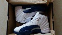 2016 Retro 12 French Blue Mens Basketball Shoes High Quality...