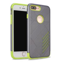 Armor Cell Phone Cases For Apple iPhone 7 Plus iPhone 6 6s P...