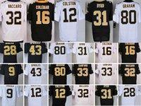 2016 Men Elite Football Jerseys Rams #16 Coleman #33 Sanford...