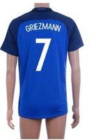 16- 17 European Cup 7 GRIEZMANN Soccer Jerseys shirt tops, top...