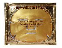 DHL Free 100pcs lot Gold Bio- Collagen Facial Mask Face Mask ...