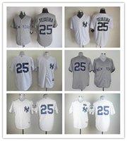 Cheap MLB baseball jerseys New York Yankees jerseys JETER#2 ...
