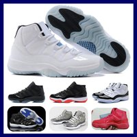 Wholesale Legend Blue Retro XI Basketball Shoes Men Sports S...