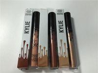envío rápido 2016 nuevo producto de moda Kylie Jenner lápiz labial de metal Barra de labios mate 3 colores HEREDERO KING K REINADO
