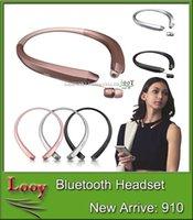 HBS910 Casque HBS 910 Écouteurs Écouteurs stéréo Bluetooth 4.1 Casques sans fil HBS-910 pour LG Iphone 7 Plus PK HBS 800 HBS900