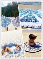 2016 Hot 17 Styles Superfine Fiber Round Beach Towel 150cm B...