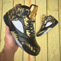 Jumpman 5 Retro Scratch Color Mens Basketball Shoes Dan V Re...
