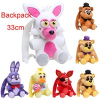 33CM FNAF plush backpack Five Nights At Freddy' s Plush ...