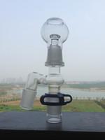 Adaptateur verre mâle coudé Adapter Set 8mm Femme Reclaim Catcher Set complet pour conduites d'eau bong d'eau en verre
