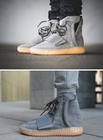 kanye 750 boots west boost high cut mens shoes outdoor high ...
