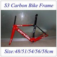 2016 Red Cervelo S3 T1000 UD Road Bike Frames Full Carbon Fi...