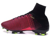 2016 new mens Mercurial Superfly V FG Training Soccer Shoes,...