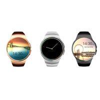 Smart Watch KW18 fréquence cardiaque compatible montre numérique Mini SIM adapté pour IOS et Android OS bluetooth