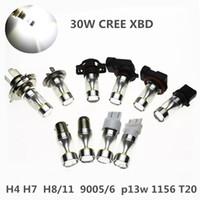 6 CREE- XBD 30W LED H4 h7 h11 1156 1157 9005 9006 White Fog T...