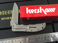 kershaw Cryo II A O Folding blade Knife 3655TI 8Cr13Mov stai...