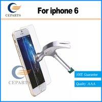 Anti-Explosion 2.5D 0.3mm 9H Dureté Premium Protecteur d'écran en verre trempé pour Iphone 6 4.7 film protecteur