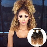 Honey Blonde Ombre Peruvian Hair Extensions Three Tone 1b 4 ...