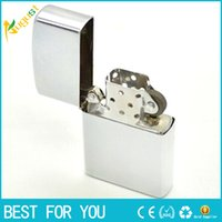 New hot Retail Fashion Windproof Metal Oil Cigarette lighter...