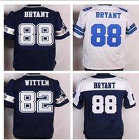 Wholesale Cheap jerseys Cowboys #21 Ezekiel #88 BRYANT #82 W...