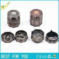 New zinc alloy herb grinder 4 parts 45mm teeth herb filter n...